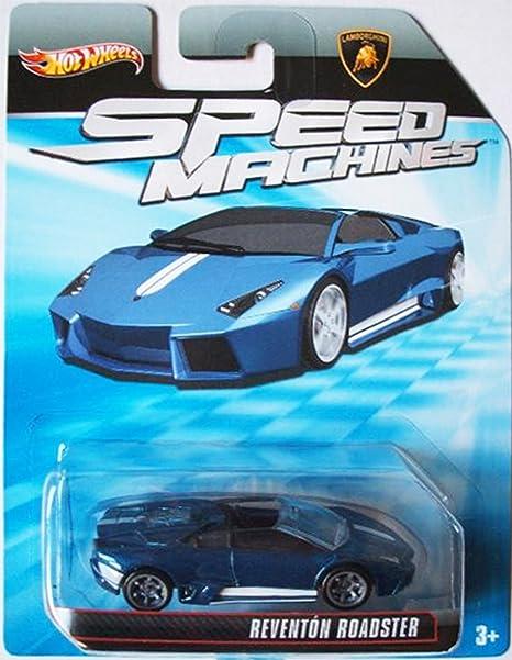 Amazon Com Mattel Hot Wheels Speed Machines Lamborghini Reventon
