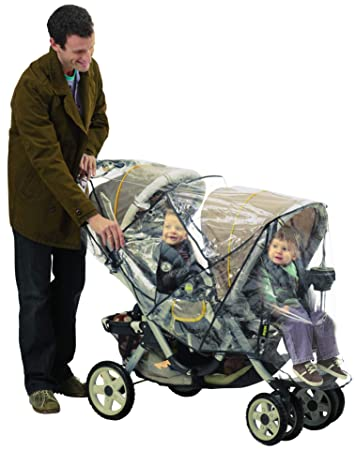 Amazon Com J Is For Jeep Deluxe Tandem Stroller Weather Shield
