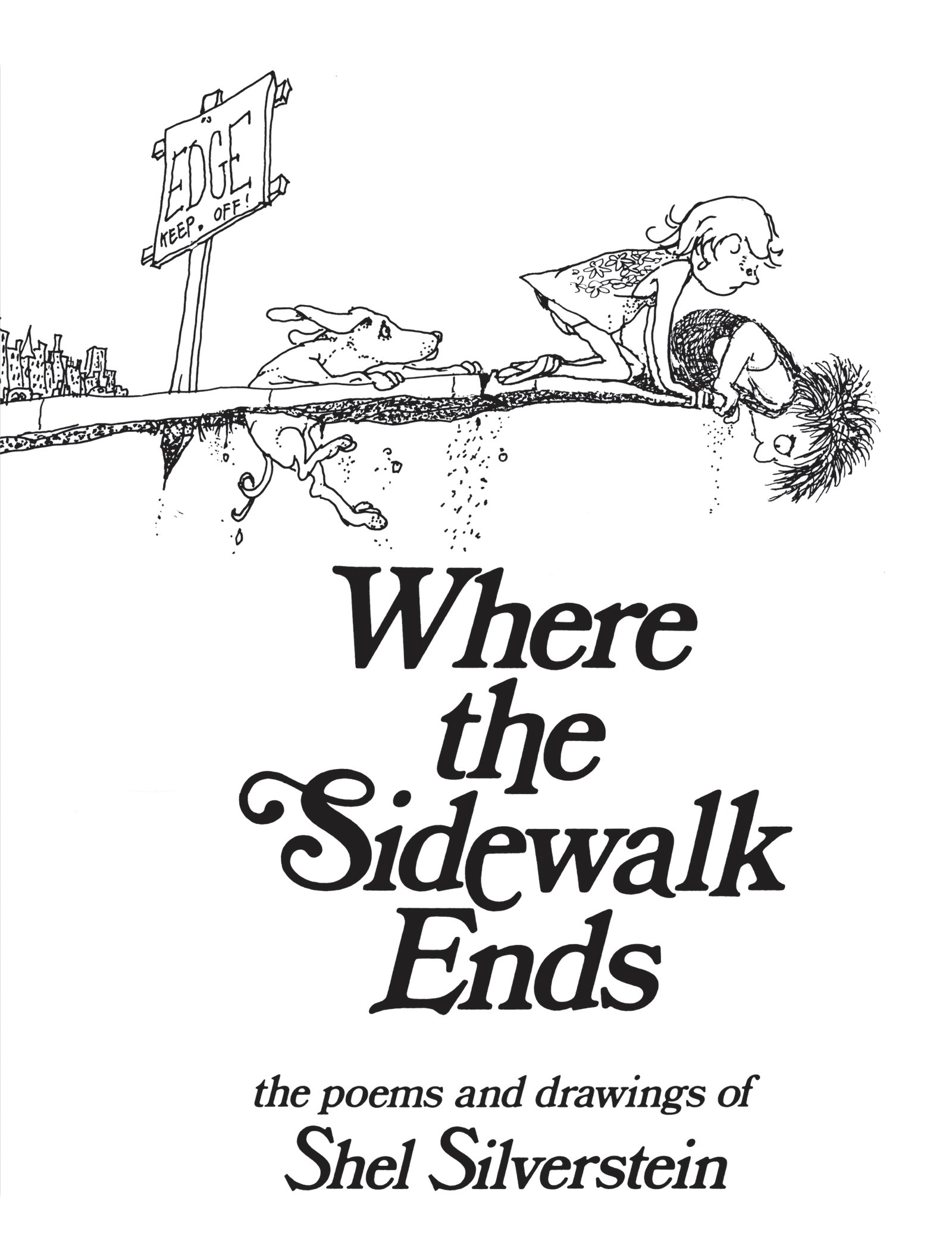Where Sidewalk Ends Poems Drawings product image