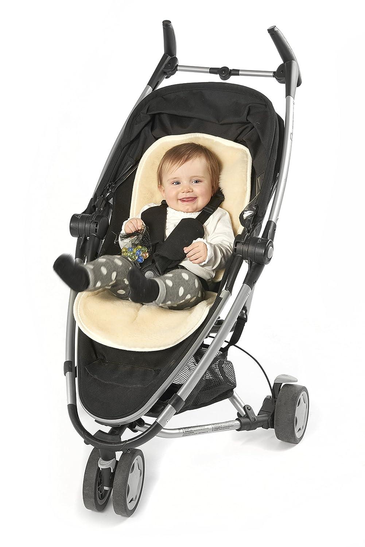 Buggy Kinderwagen Schurwolle Baby Merino Universaleinlage Babytrage K Einlage f/ür Kindersitz /& N Babyschale Flor aus 100/% Schurwolle Alternative zu Lammfell