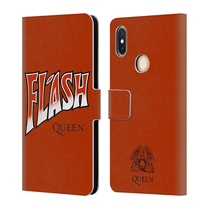 Amazon com: Official Queen Flash Key Art Leather Book Wallet