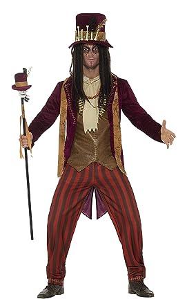 Smiffys Men's Deluxe Voodoo Witch Doctor Costume