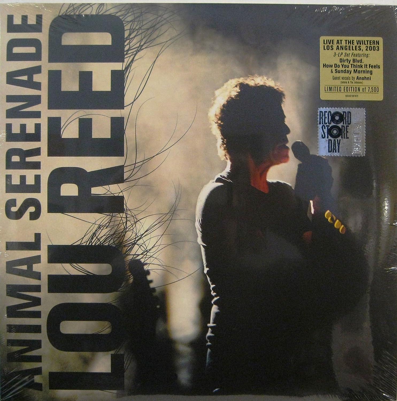 Lou Reed Animal Serenade 2018 Record Store Day 3xlp Set Vinyl