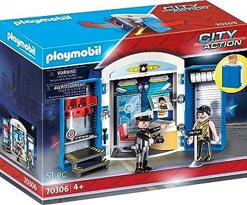 Playmobil City Action 70306 - Stazione di Polizia, dai 4 anni