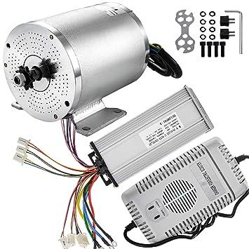 Amazon.com: Mophorn - Motor eléctrico sin escobillas, 48 V ...