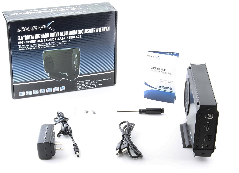 Amazon.com: Sabrent - Carcasa para disco duro USB 2.0 ...