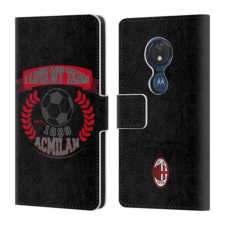 Amazon.com: Official AC Milan Kick 1 2018/19 Teens Leather ...