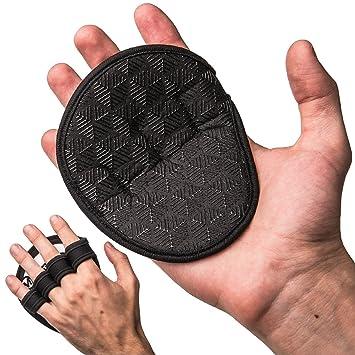 Levantamiento de pesas - Almohadillas de Silicona Grip más, o Sudoroso manos de tiza no, Hombres y Mujeres Rosa negro / rosa: Amazon.es: Deportes y aire ...