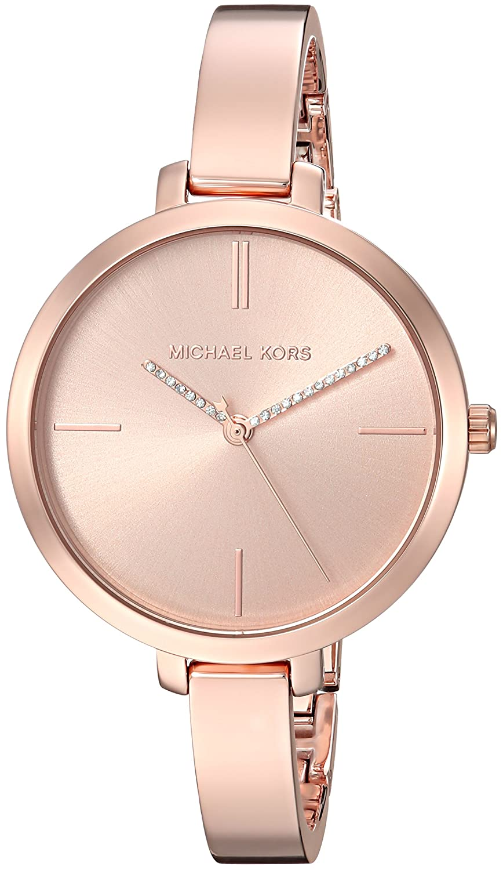 564410e0814b Amazon.com  Michael Kors Women s Jaryn Quartz Watch with Stainless-Steel  Strap