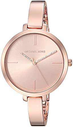 36ade9f3ea07 Amazon.com  Michael Kors Women s Jaryn Quartz Watch with Stainless-Steel  Strap