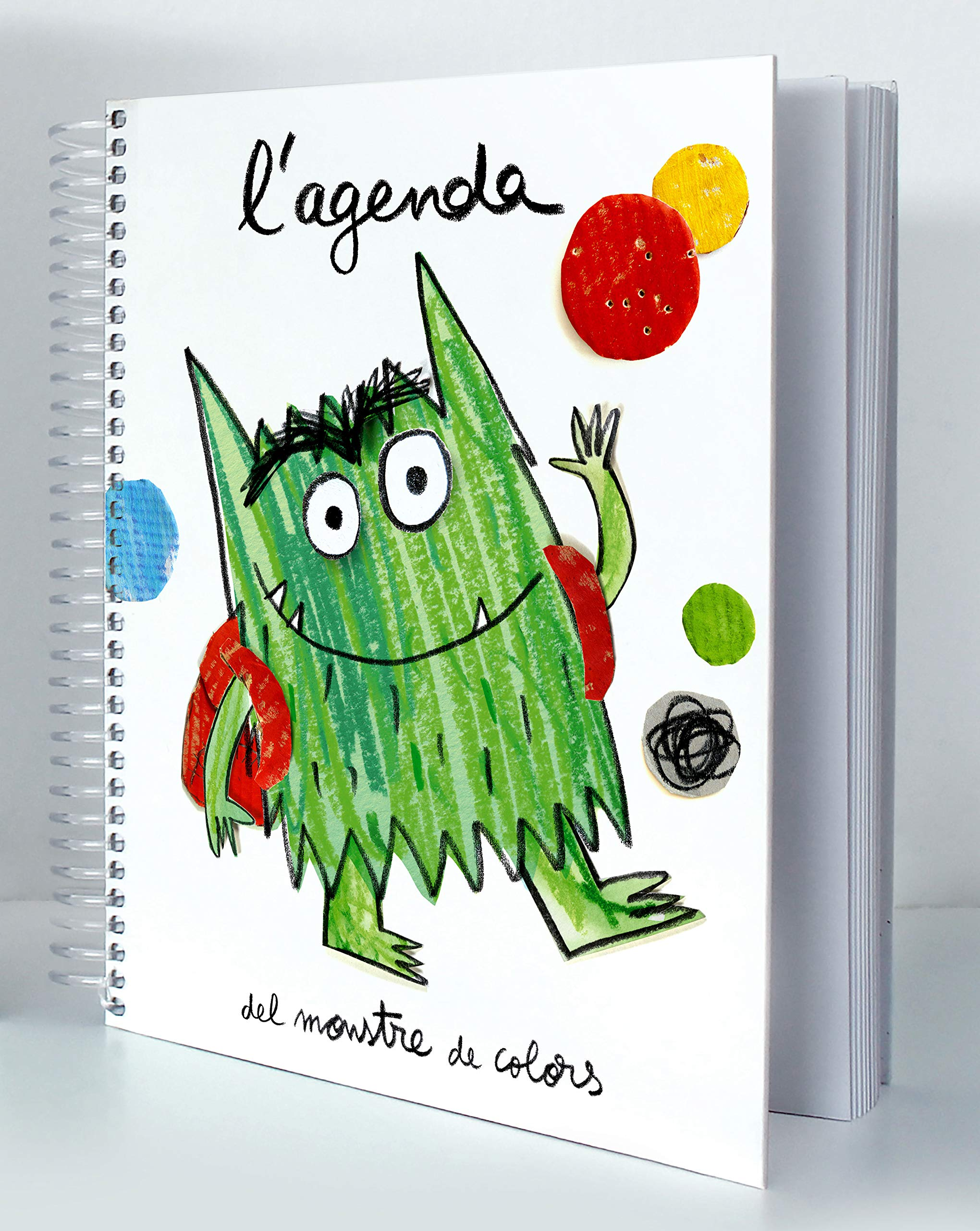 Agenda del monstre de colors (Spanish) Paperback – 2018