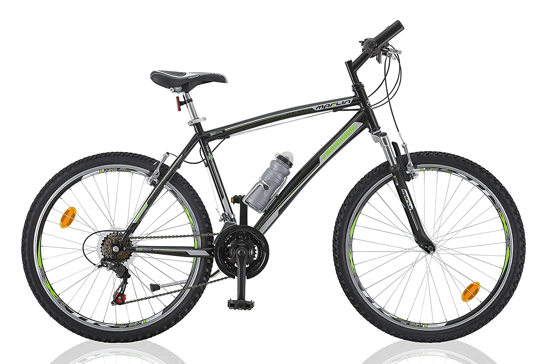 "26"" 26 Zoll Kinderfahrrad Mountainbike Federgabel Kinder Fahrrad Rad Bike Jugendfahrrad 21 Gang Freeride SCHWARZGRÜN"