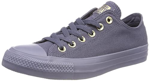 Converse Damen CTAS Ox Light CarbonGold Fitnessschuhe