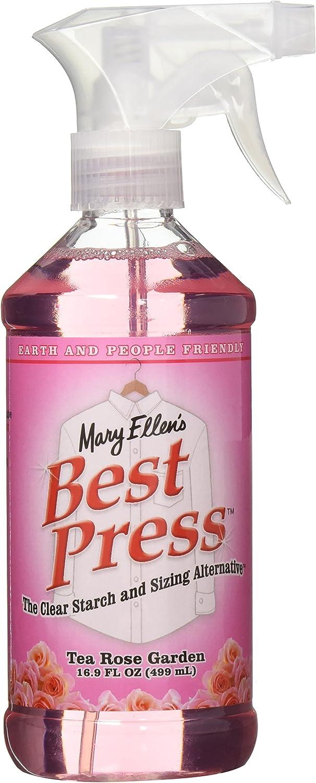 Mary Ellen Productos Mary Ellen almidón de Transparente de Prensa de la Mejor Alternativa 16oz-Tea Rose Garden, Otros, Multicolor
