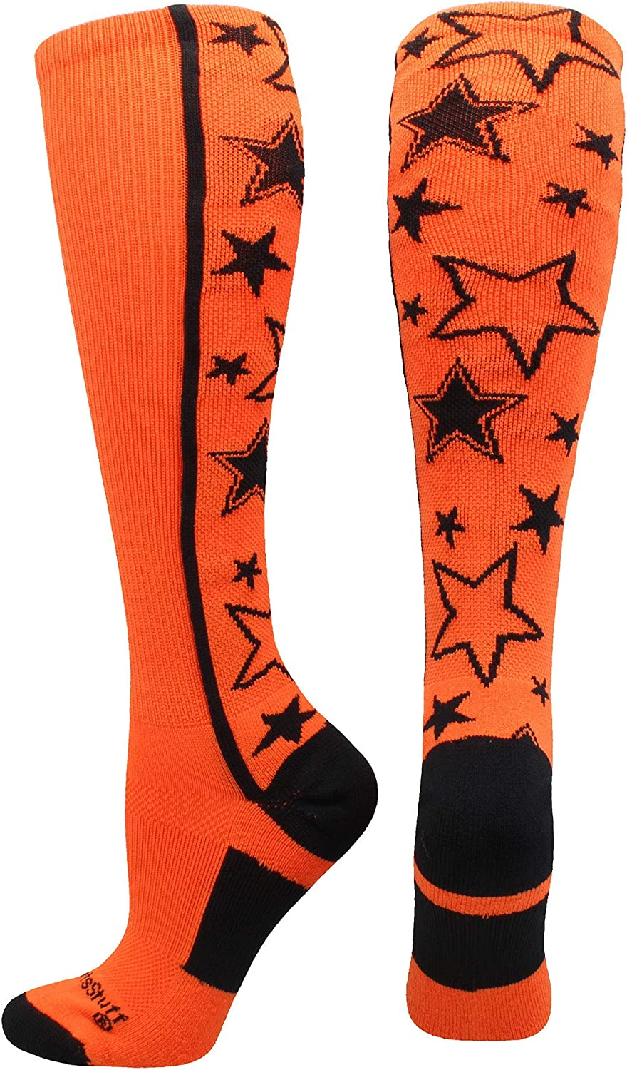 Crazy Socks with Stars Over The Calf Socks Multiple Colors