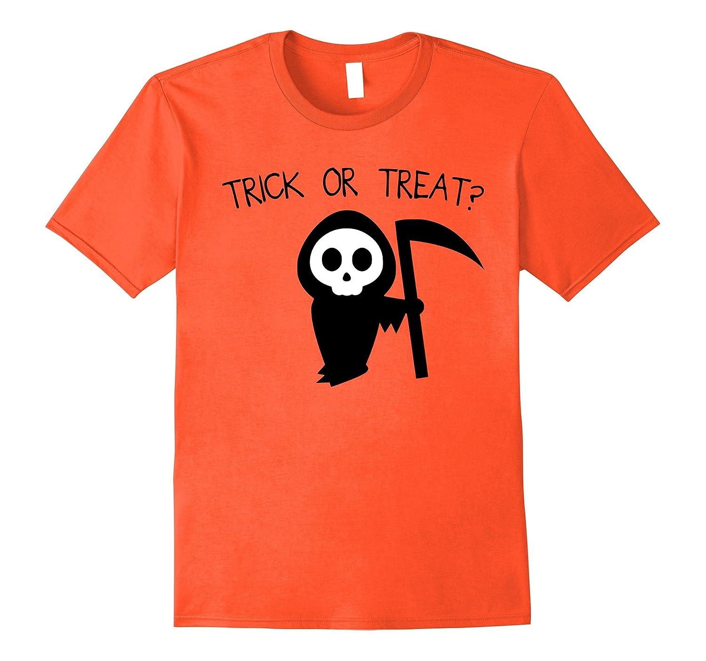 Trick Or Treat? Halloween Grim Reaper Death Costume Shirt-Art
