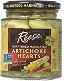 Reese Marinated Artichokes Hearts, 7.5-Ounce Glass (Pack of 12)