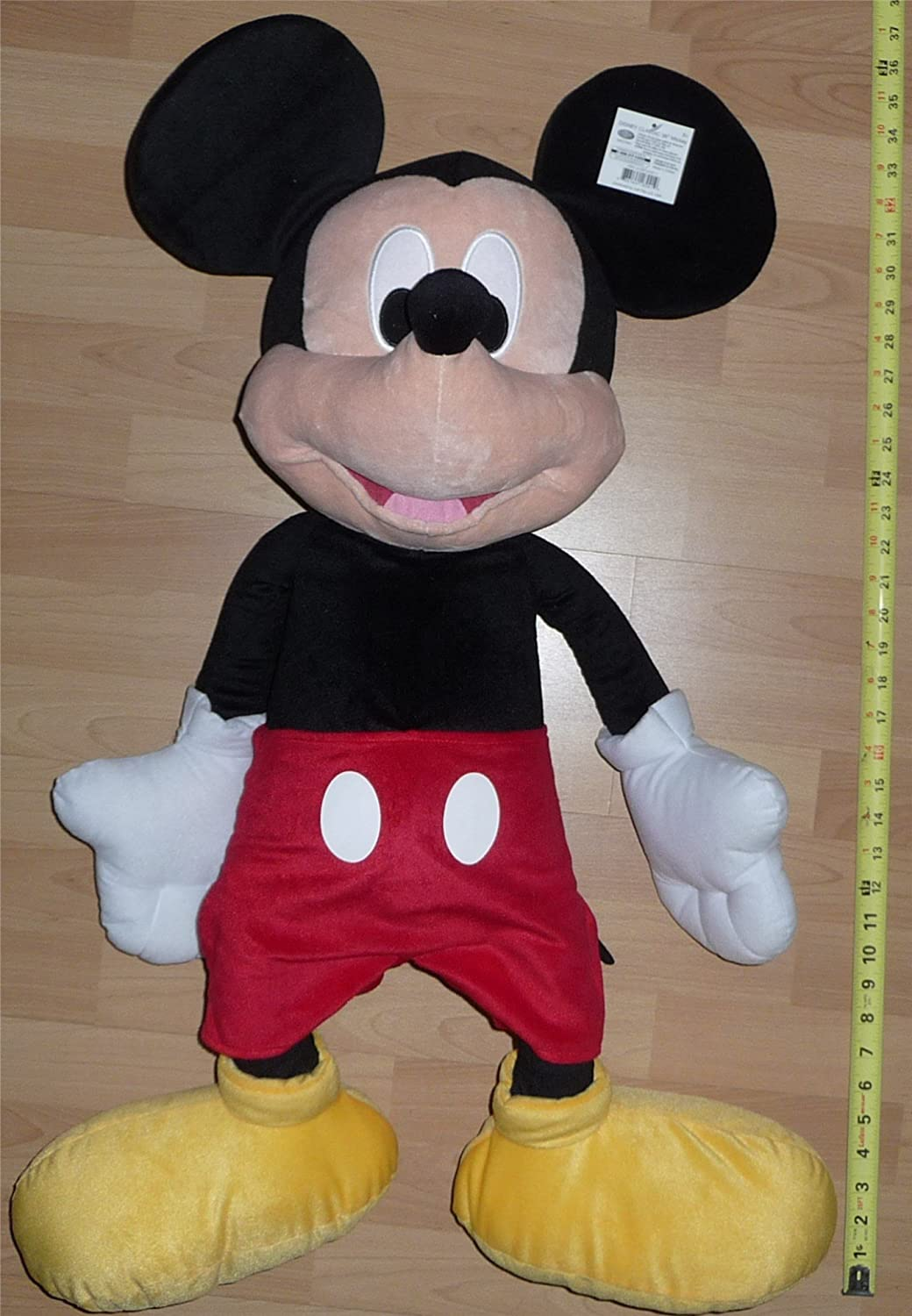 Amazon Com Large Mickey Mouse 36 Plush Disney Classic 2015 Toys