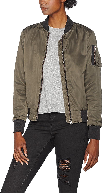 Urban Classics Ladies Nylon Twill Bomber Jacket Chaqueta Mujer