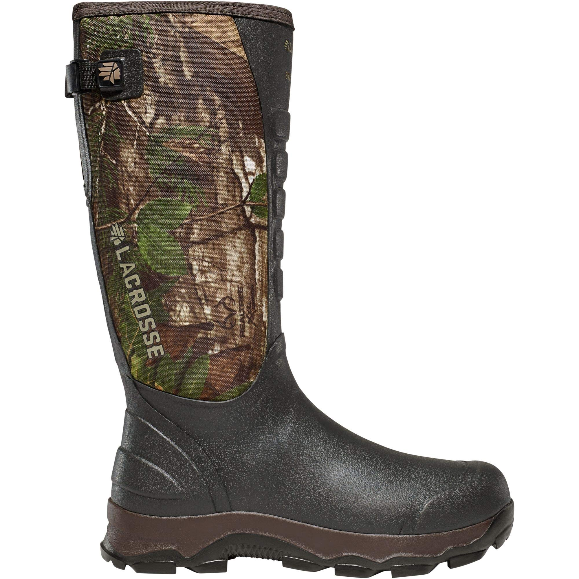 Lacrosse Men's 4X Alpha Snake Hunting Boot, Real Tree Extra Green, 6 M US