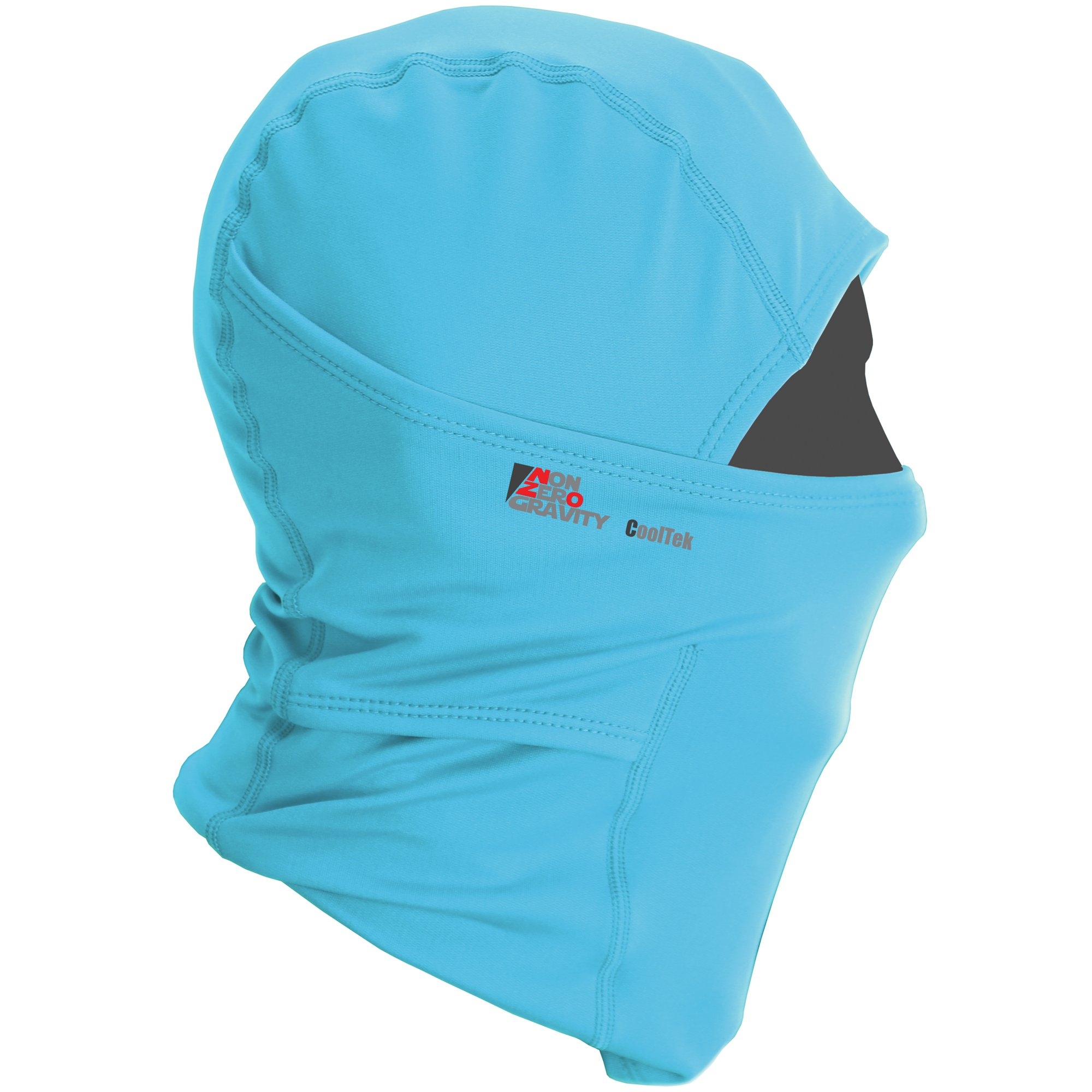 NonZero Gravity Cooling Hood | Tactical Hoodie, Head Wrap And Neck Scarf For Cycling, Biking And Sports (Tactical, Blue)