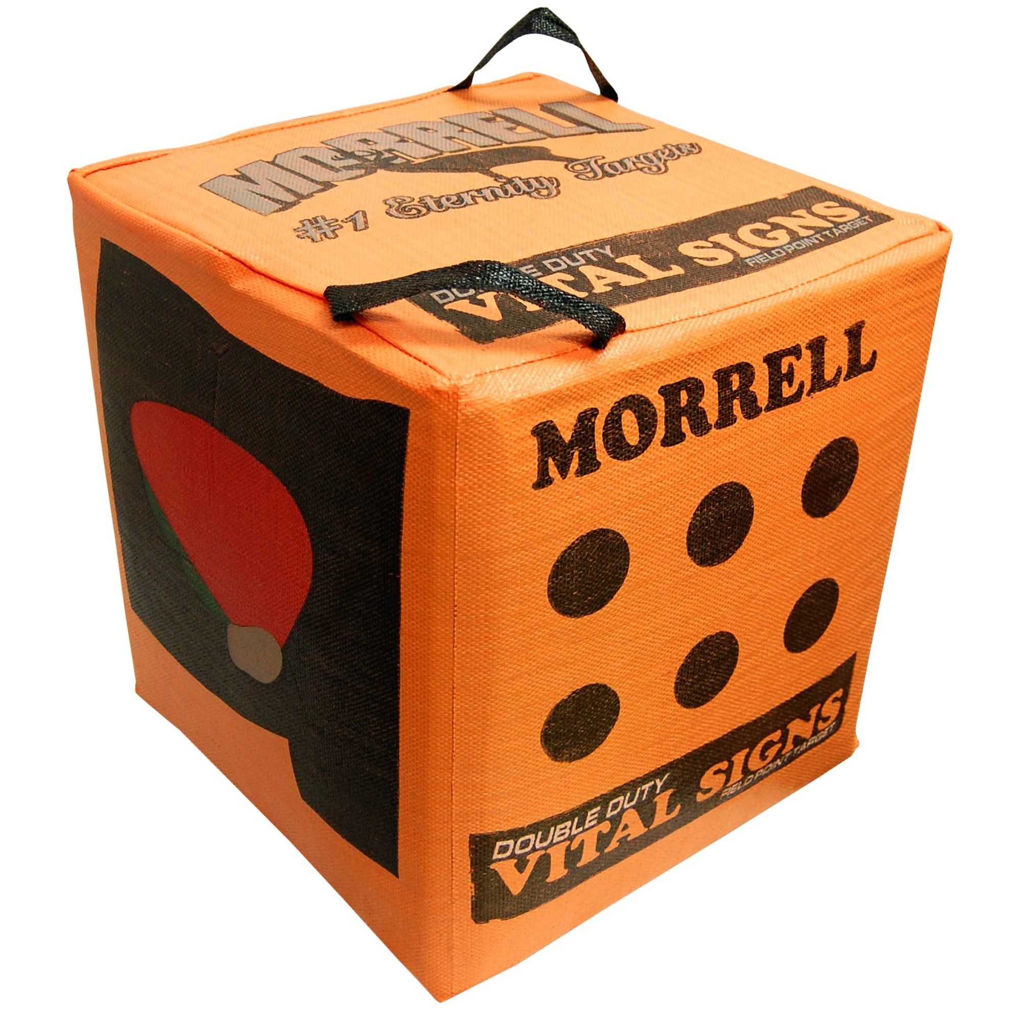 Morrell Double Duty Vital Signs Field Point Bag Cube Archery Target - Deer, Bear and Turkey Vitals