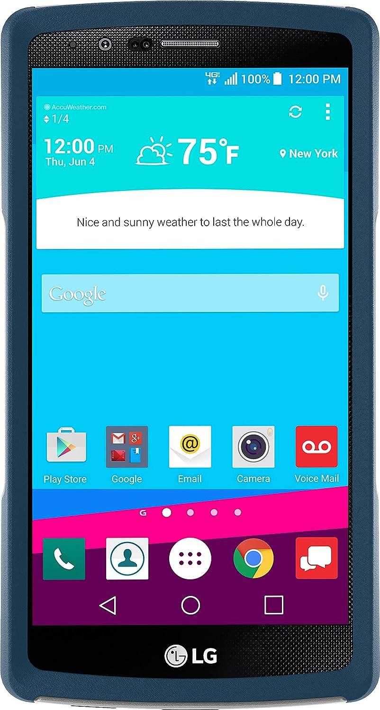 Otterbox Cell Phone Case for LG G4 - Retail Packaging - Sleet Grey/Dark Deep Water Blue