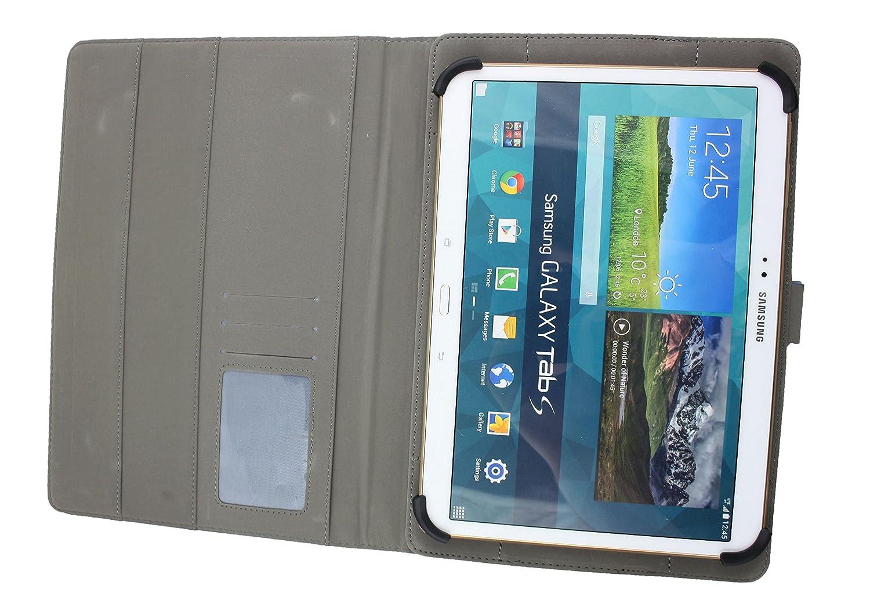 L/ápiz /Óptico 10-11 Pulgadas Emartbuy SPC Heaven 10.1 Pulgadas Tablet PC Universal Range Turquesa /Ángulo M/últiples Ejecutivo Folio Funda Carcasa Wallet Case Cover con Ranuras para Tarjetas