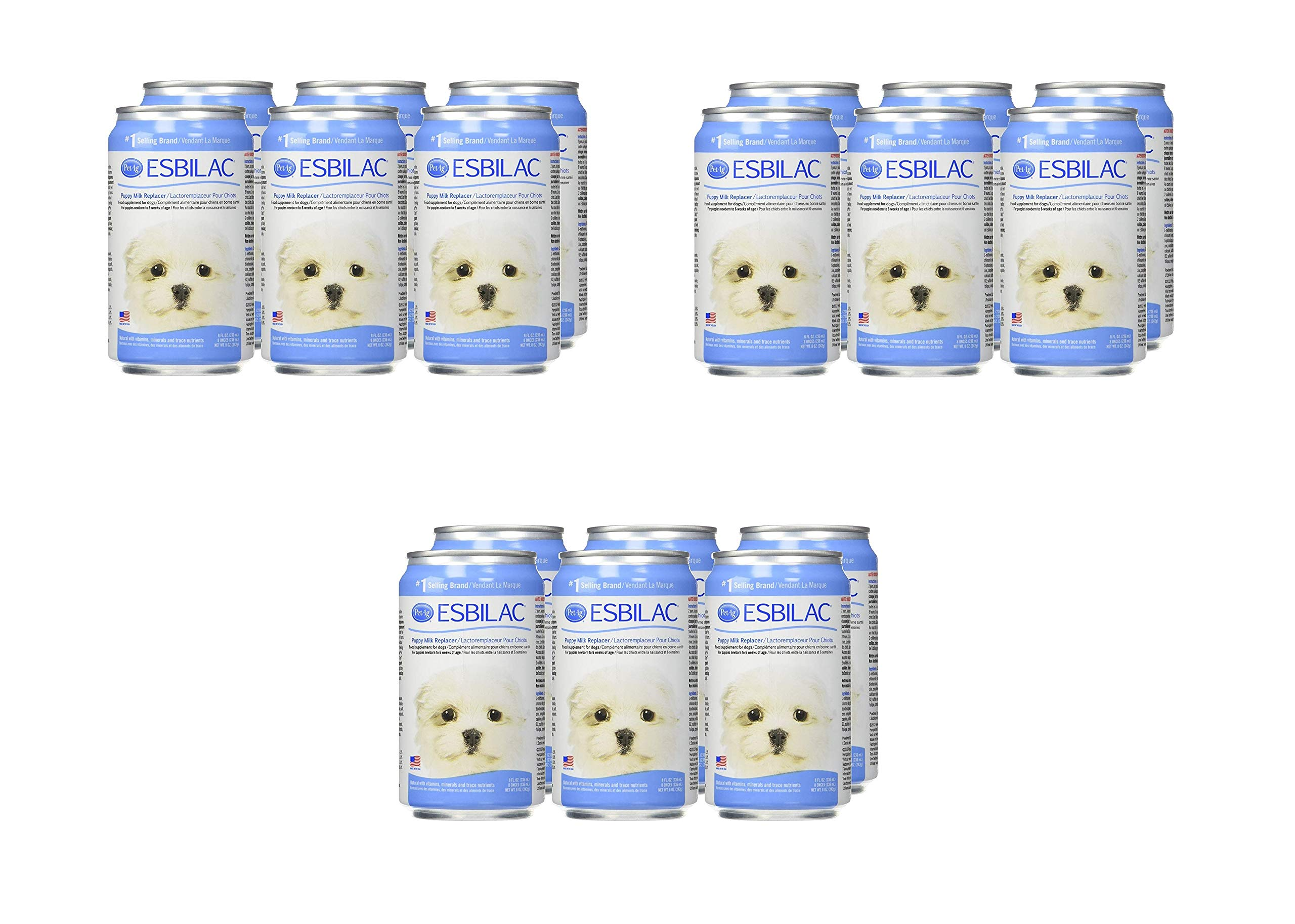 Esbilac Milk Replacer for Puppies 8oz (6 Pack) (3 Pack (6 Count))