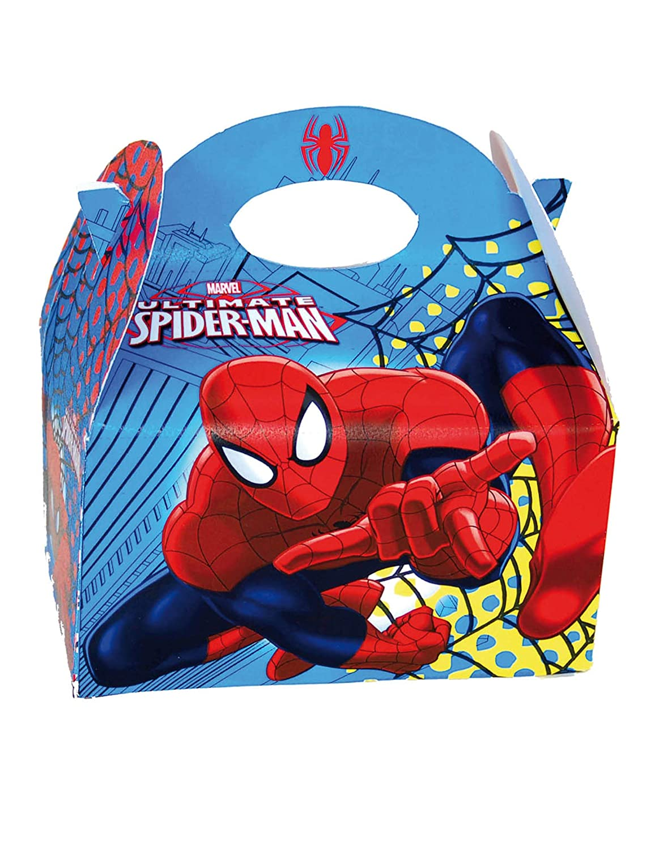 COOLMP - Caja de cartón Spiderman 16 x 10,5 x 16 cm - Talla ...