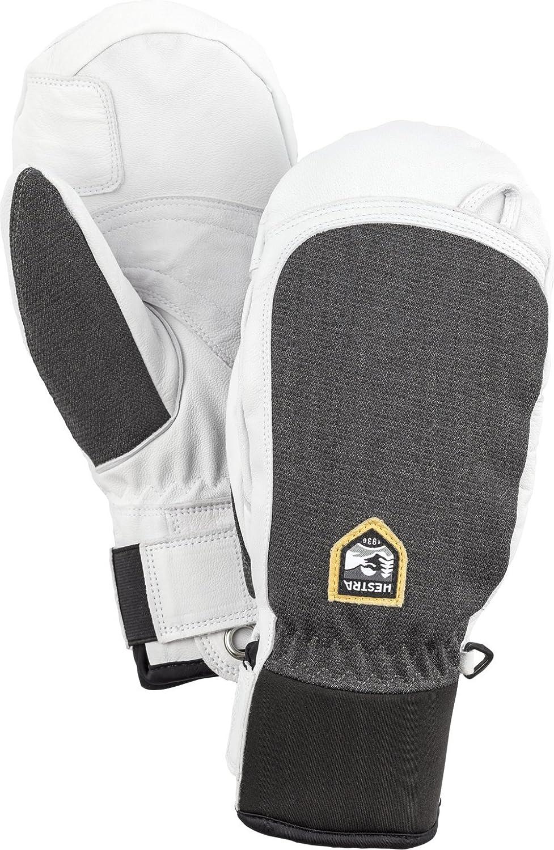 Hestra Army Leder Patrol Short Ski Handschuh mit Army Ziegenleder