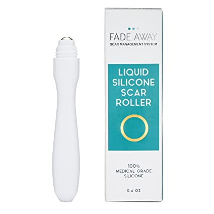 FADE Away silicona gel Cicatrices Roller – con silicona piel para tratamiento de Cicatrices. Ideal