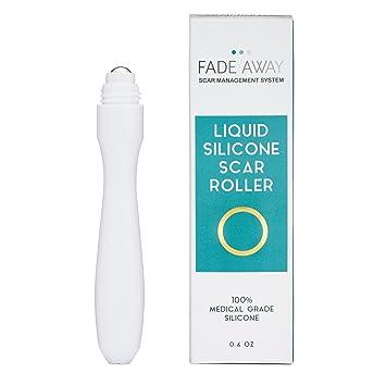 FADE Away silicona gel Cicatrices Roller - con silicona piel para ...