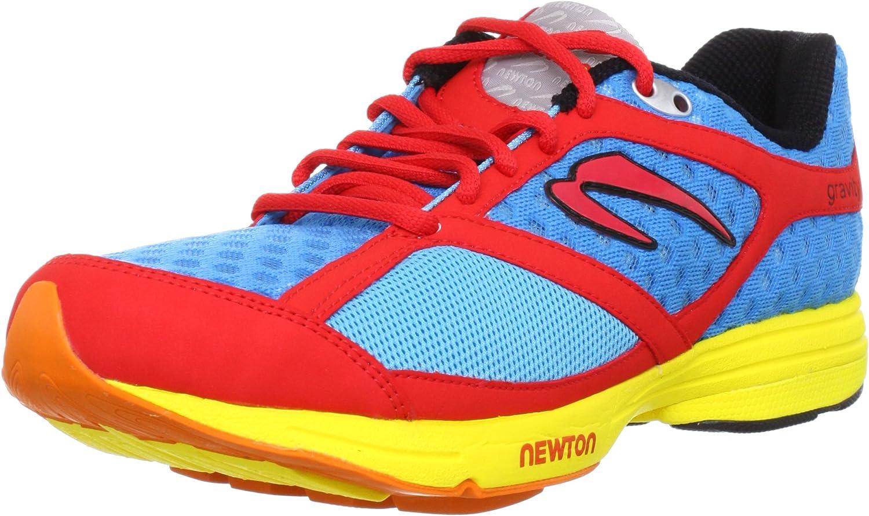 NEWTON Gravity Neutral Zapatilla de Running Caballero, Azul/Rojo, 47: Amazon.es: Zapatos y complementos