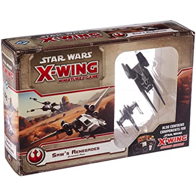 Star Wars: X-Wing - Saw's Renegades: Toys & Games