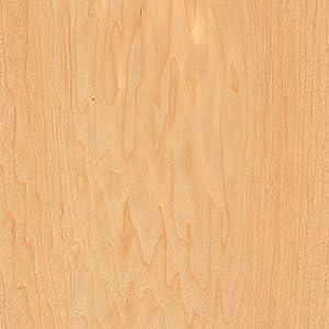 Maple Wood Veneer Rotary Spliced 2'x8' 10 mil Sheet