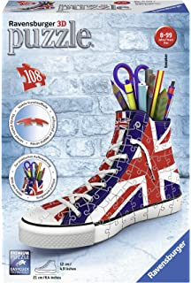 Puzzles & Geduldspiele 3D-Puzzle 3D Turnschuhe Sneaker American Style RAVENSBURGER 12549  Stiftehalter