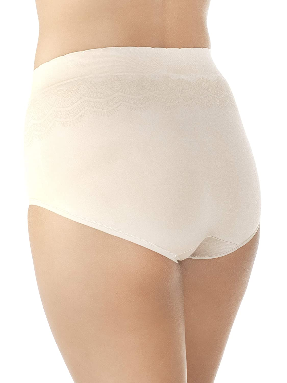 efc253f70fef Vanity Fair Women's No Pinch-No Show Seamless Brief Panty 13170 at Amazon  Women's Clothing store: