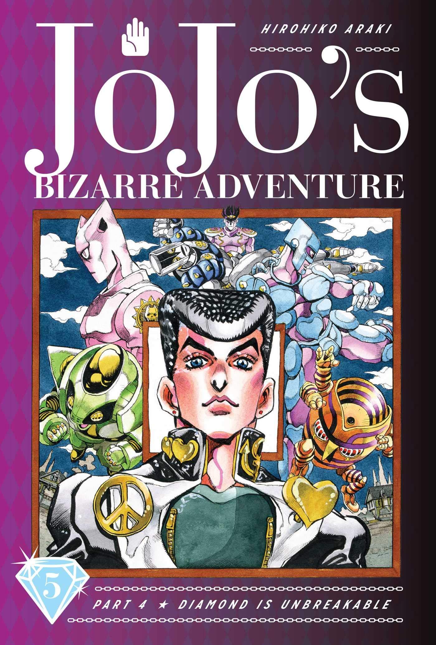 JoJo's Bizarre Adventure: Part 4–Diamond Is Unbreakable, Vol. 5 (5)
