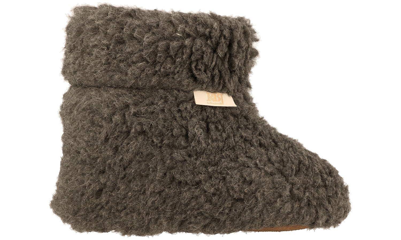 Zapatillas De Casa Calientes Hechas De Lana De Oveja 100% Natural: Amazon.es: Zapatos y complementos