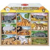 Melissa and Doug Safari Sidekicks - 10 Collectible Wild Animals