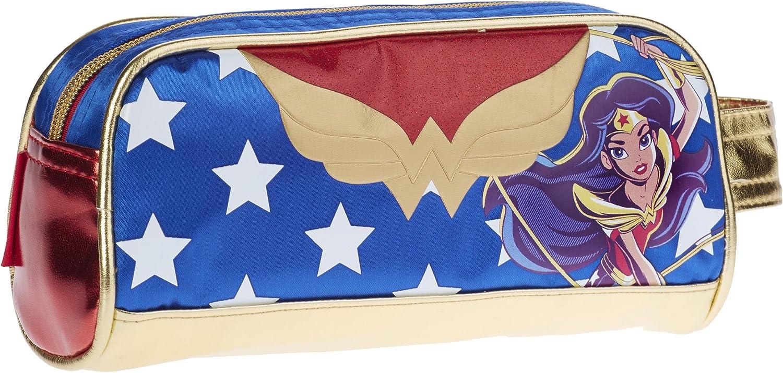 Karactermania DC Super Hero Girls Wonder Women Estuches, 20 cm, Azul: Amazon.es: Equipaje
