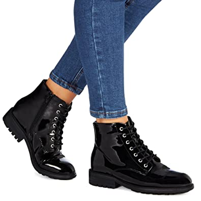 Faith Patent Ankle Boot in Black cheap top quality free shipping pay with paypal for sale 2014 4hh5ZZe