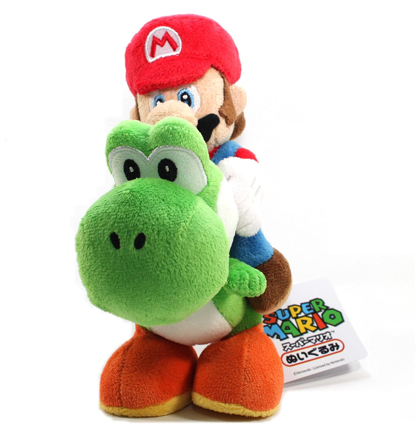 Amazon.com: Sanei Super Mario Plush Series Plush Doll: 8