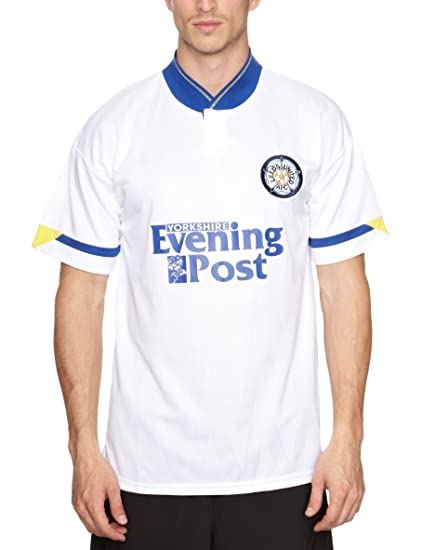 Scotch Guard Score Draw Official Retro Leeds United - Camiseta de fútbol para hombre: Amazon.es: Ropa y accesorios