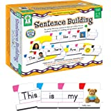 Key Education Sentence Building for Kids—Sight Word Builder for Early Reading, Speech, Writing, Language, Literacy Resource f