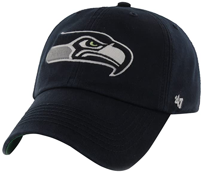 bdac6c1e NFL Seattle Seahawks '47 Brand Franchise Fitted Hat, Navy, Medium, Baseball  Caps - Amazon Canada