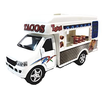 Kinsmart Route 88 Tacos Fast Food Vending Camper 1/43 O Scale Diecast Truck: Beauty