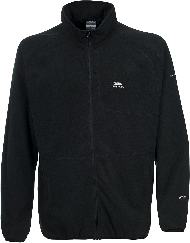 Trespass Gladstone Quick-drying lightweight microfleece jacket for