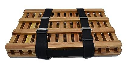 Eisco Labs - Marco de madera para herbario, 12 x 18 pulgadas con 2 correas de hebilla: Amazon.es: Industria, empresas y ciencia